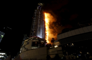 dubai address hotel fire